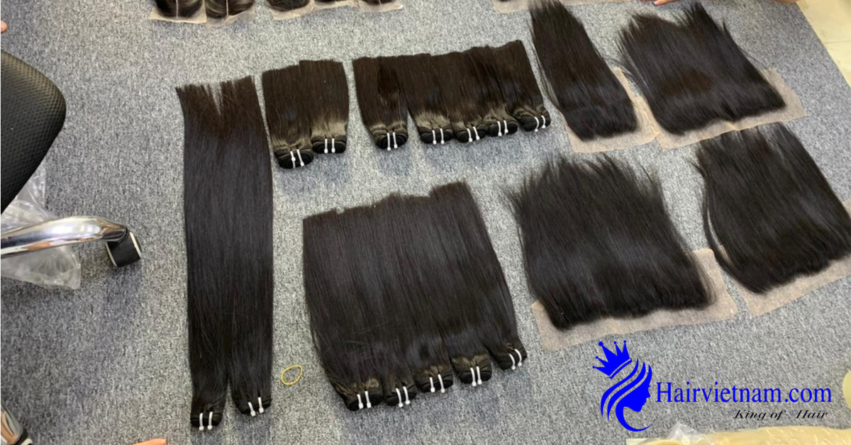 Straight hair is enough cuticle layers, healthy, smooth and glowing.